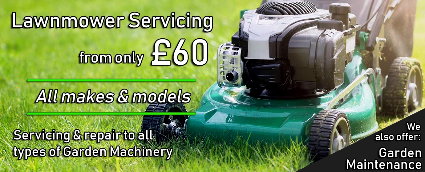 Great prices on Lawnmower Servicing  and Garden Machinery Repairs in Woodley